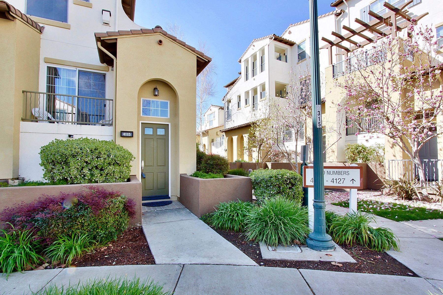 Condominiums for Sale at Desirable Villas At Dublin Village Ranch 4115 Clarinbridge Circle Dublin, California 94568 United States