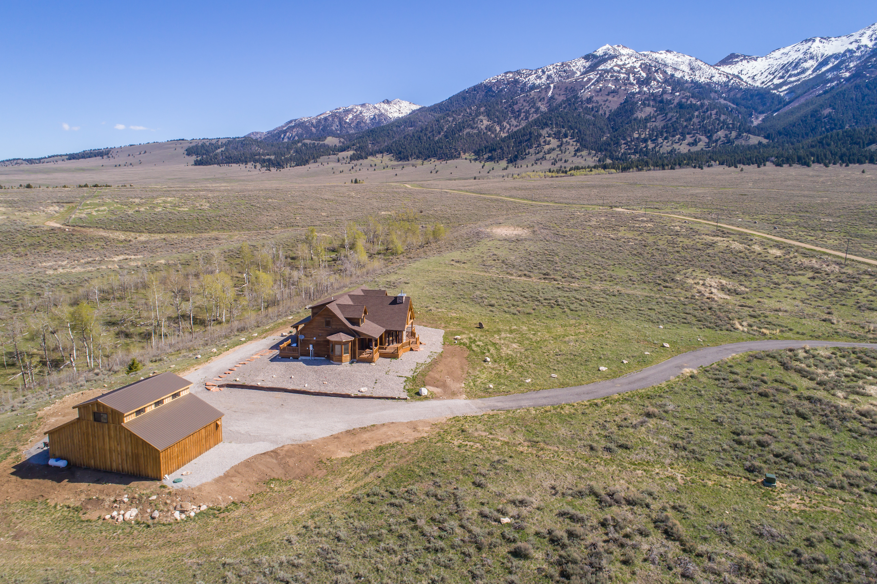 Single Family Homes pour l Vente à Pine Butte Ranch 55 Elk Meadows Ranch Road, Cameron, Montana 59720 États-Unis