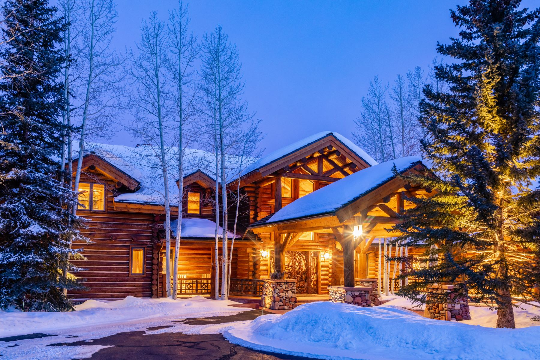 Single Family Homes のために 売買 アット Lodge at Eagle Pines 199 Eagle Park Drive アスペン, コロラド 81611 アメリカ