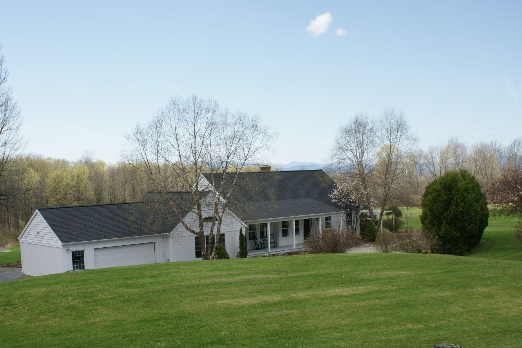 Single Family Homes for Sale at Complete Vermont homestead experience 38 Stone Meadow Lane Ferrisburgh, Vermont 05456 United States