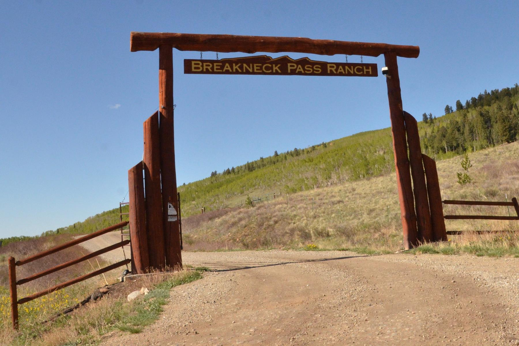 Land for Active at BREAKNECK PASS RANCH 685 Breakneck Pass Road Lot #8 Fairplay, Colorado 80440 United States