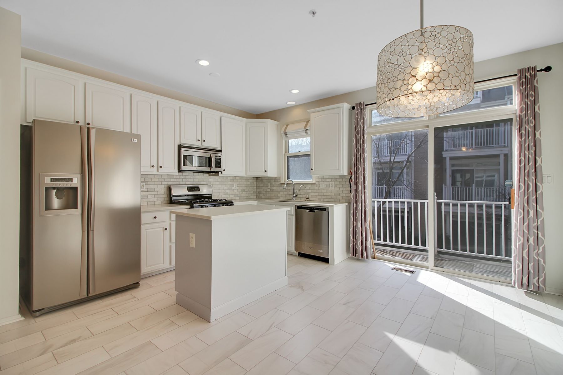 Apartment for Rent at Discover pure luxury in this beautifully renovated 4 bed 4.5 bath Townhouse 236 Price Ct, West New York, New Jersey 07093 United States