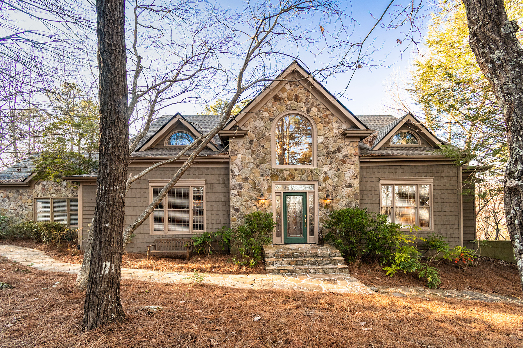 Single Family Homes for Sale at Large Mountain Home One Hour from Atlanta 100 Summit Drive, Jasper, Georgia 30143 United States