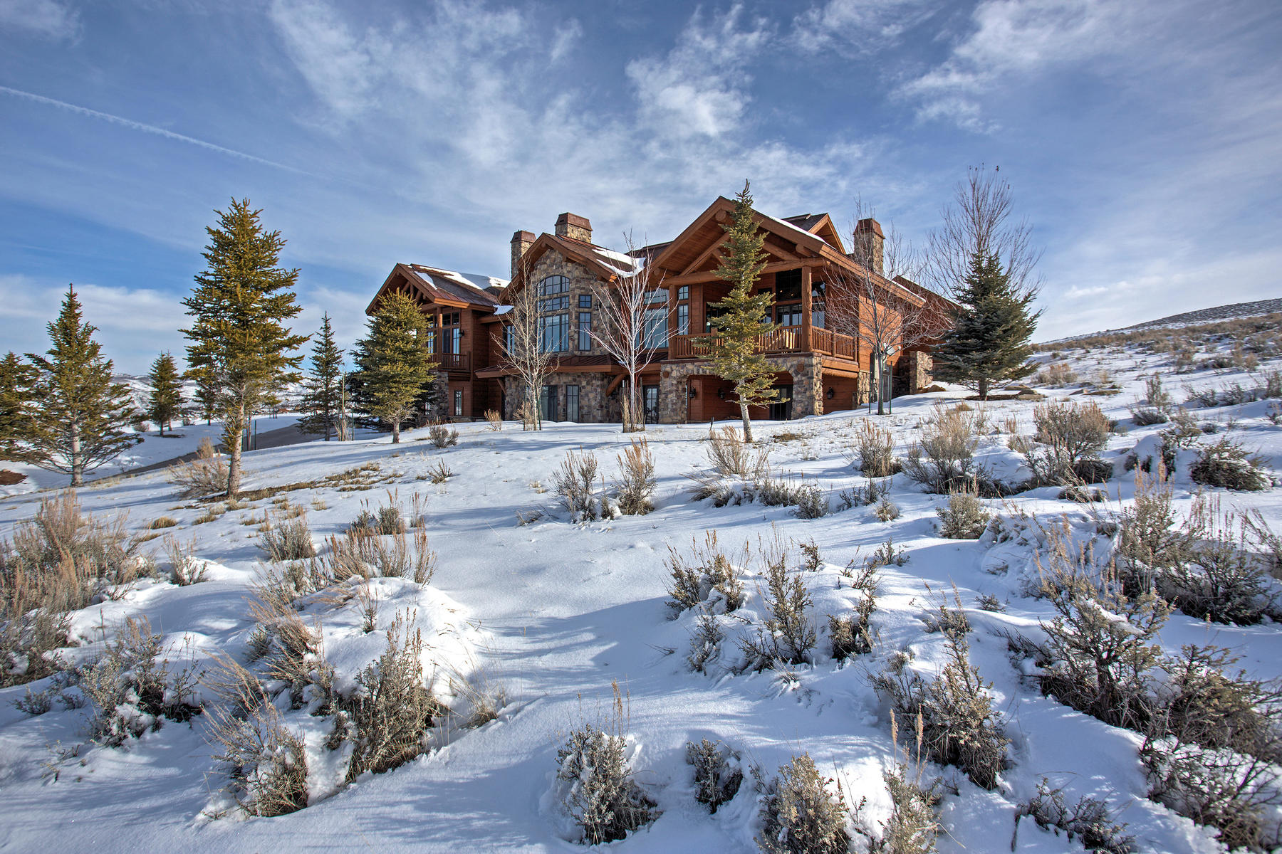Single Family Home for Sale at Fabulous Large Home in Promontory with Beautiful Views 6262 Dakota Trail Lot #32 Park City, Utah, 84098 United States