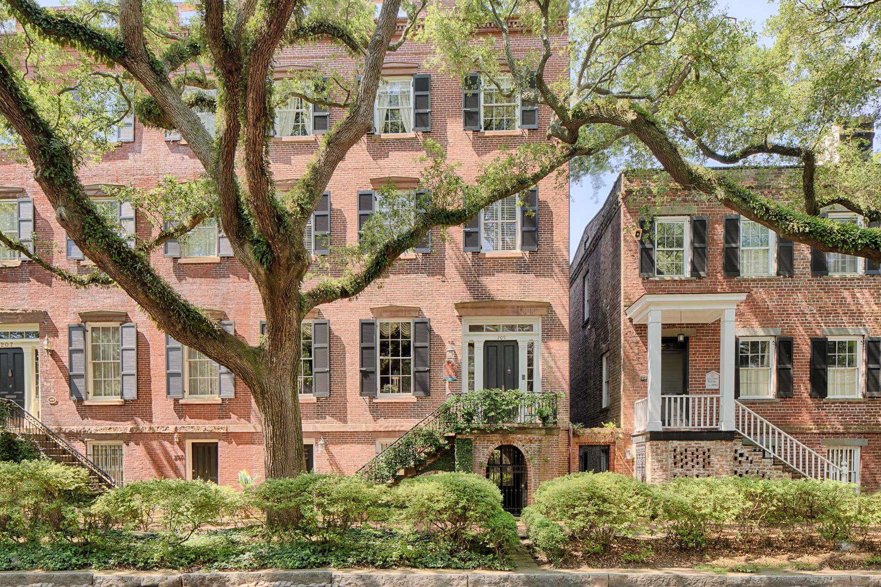 townhouses por un Venta en 209 W Jones St Savannah, Georgia 31401 Estados Unidos