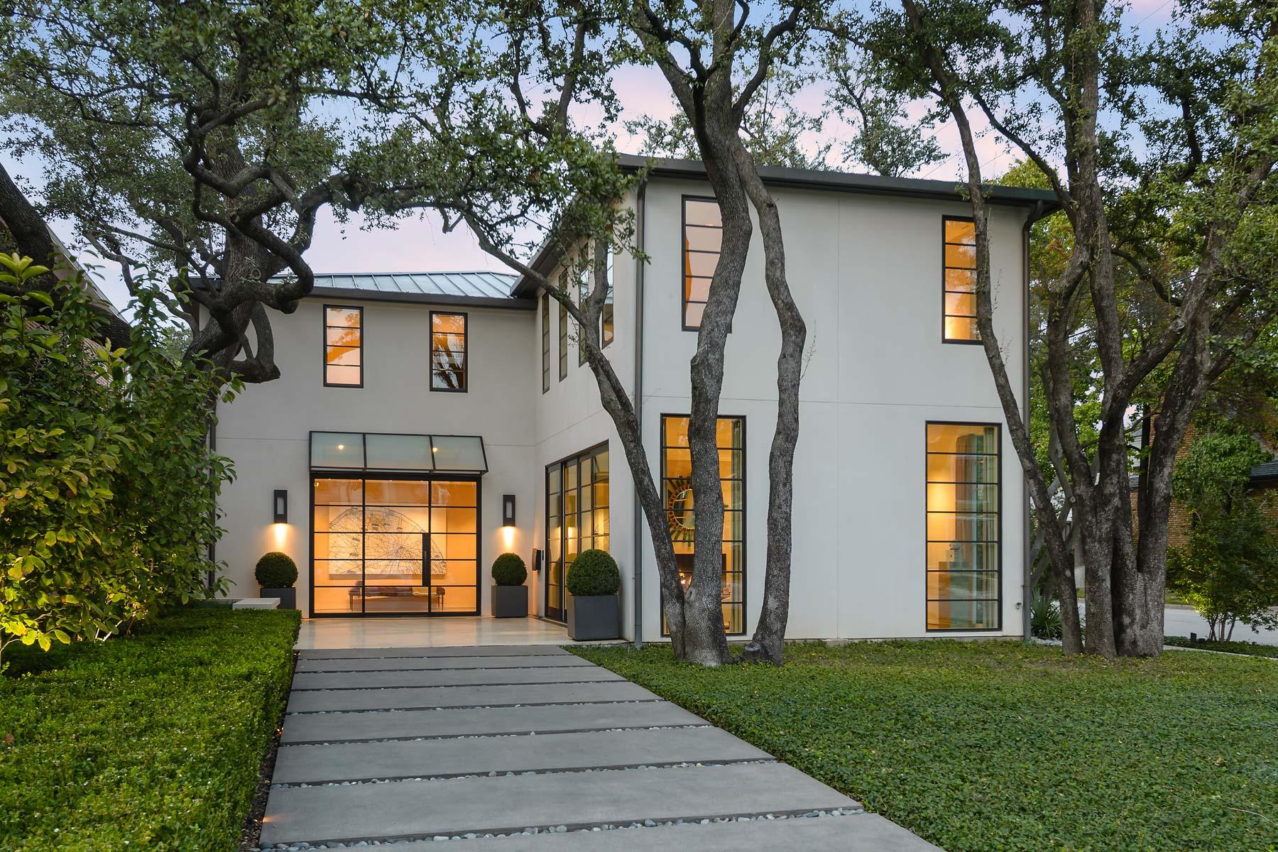 단독 가정 주택 용 매매 에 Classic, Modern and Chic 3800 Normandy Ave Highland Park, 텍사스, 75205 미국