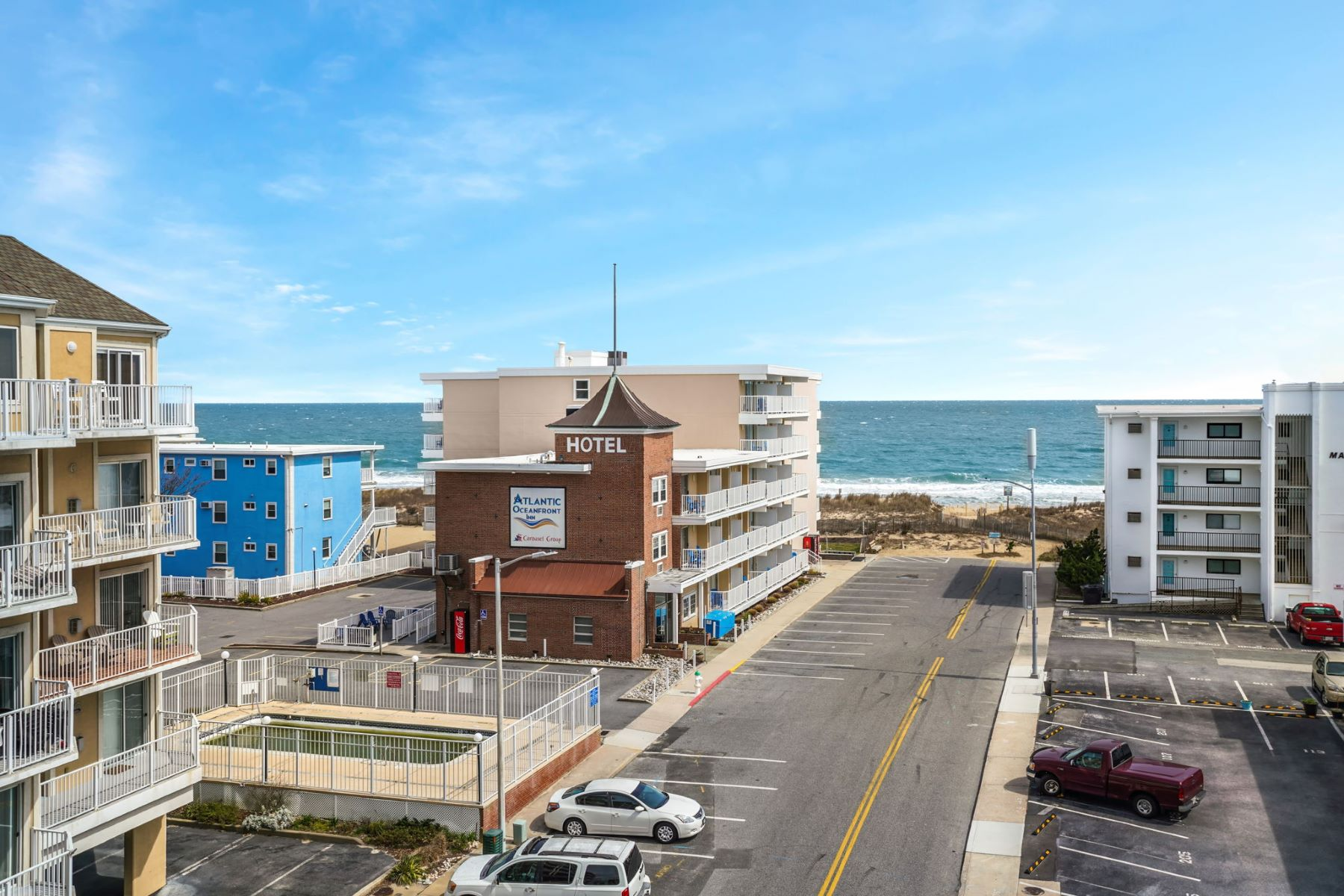 Condominiums por un Venta en Whispering Sands 401 15 45th Street 401 Ocean City, Maryland 21842 Estados Unidos