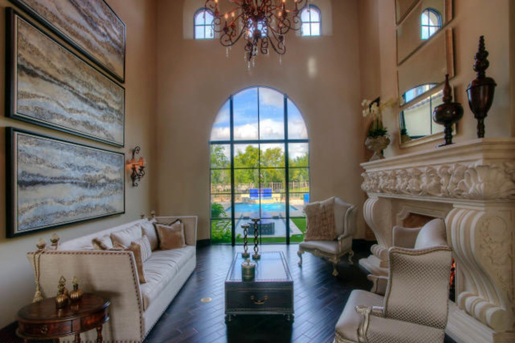 single family homes for Active at Stunning home jaw-dropping city-light views 7436 E Continental Mountain Dr Cave Creek, Arizona 85331 United States