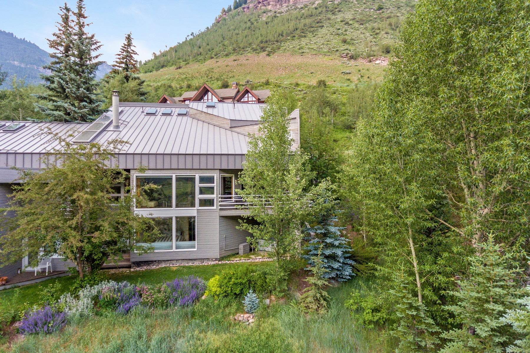 Duplex for Active at Bask in the Sun with this South-Facing Colorado Home 3245 Katsos Ranch Road #A Vail, Colorado 81657 United States