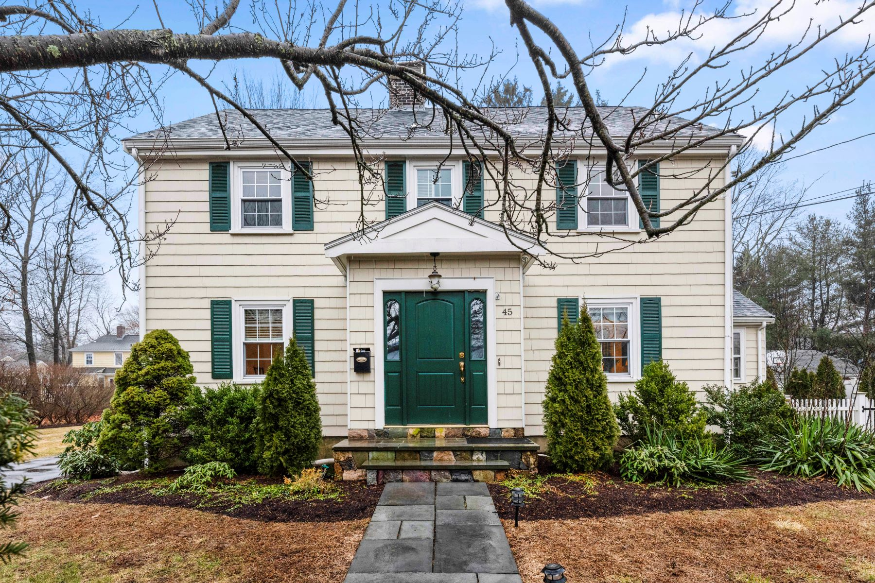Single Family Homes for Sale at 45 Whiting Ave, Dedham 45 Whiting Ave Dedham, Massachusetts 02026 United States