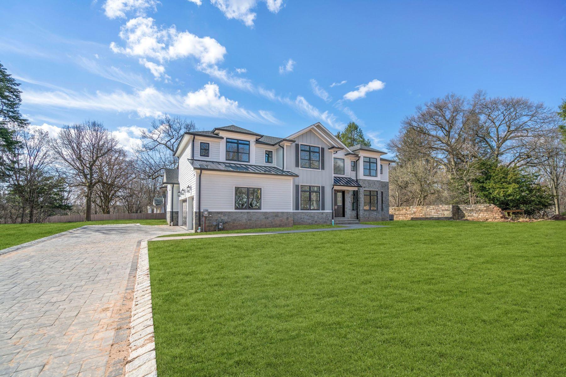 Single Family Homes por un Venta en Knickerbocker Estates 4 Forcier Court, Tenafly, Nueva Jersey 07670 Estados Unidos