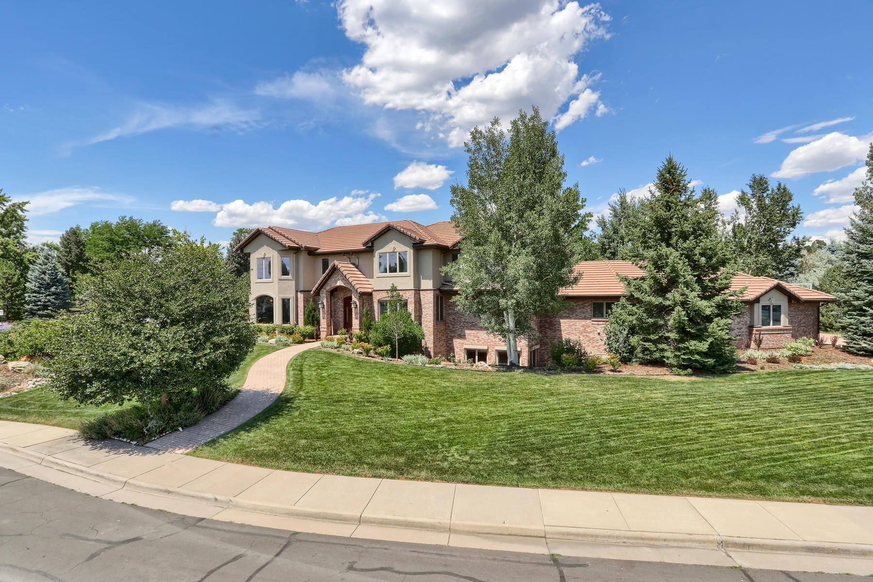 Single Family Homes for Active at Greenwood Village & Cherry Creek Schools 6505 Dorado Pl Greenwood Village, Colorado 80111 United States