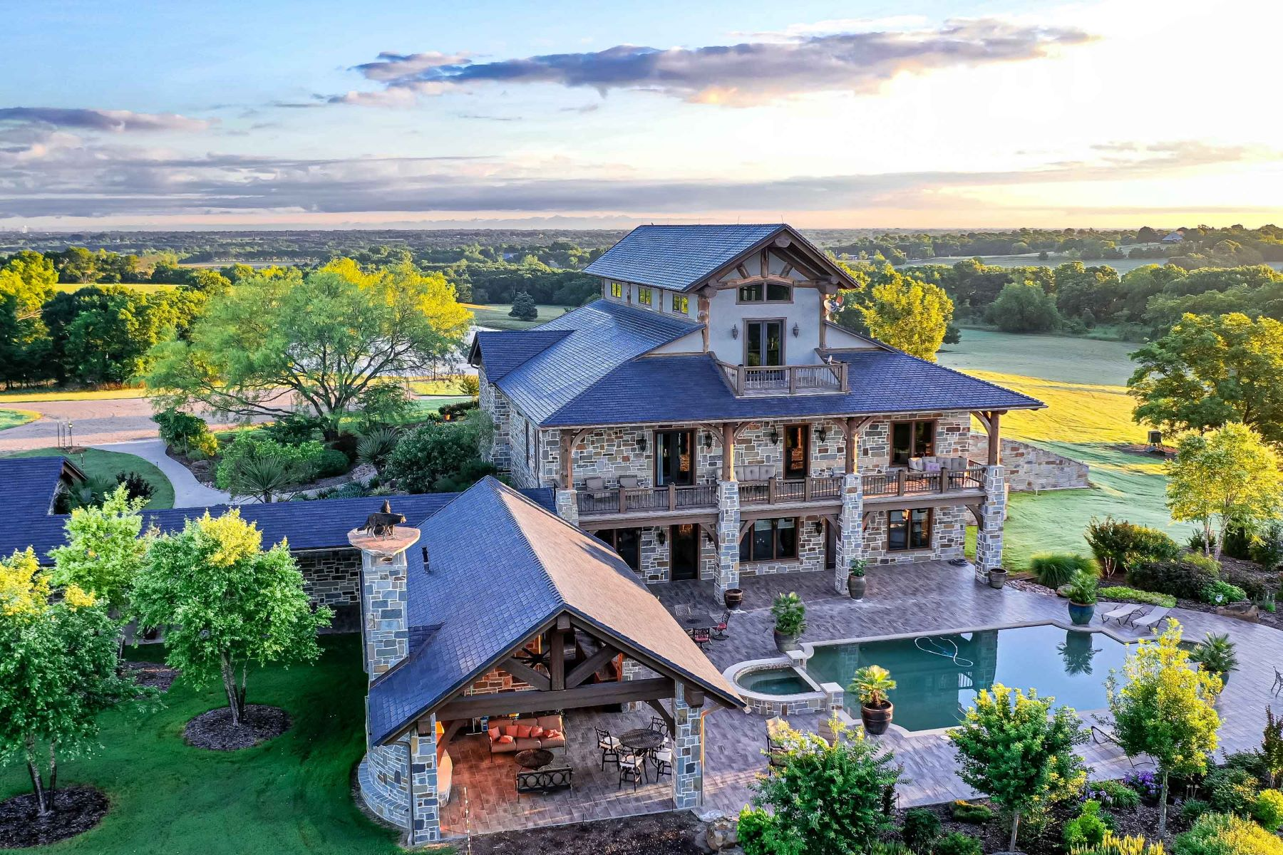Farm / Ranch / Plantation for Active at Sugar Ridge Ranch - Luxury Ranch-Style Living Minutes from Dallas 799 Sugar Ridge Road Ennis, Texas 75119 United States