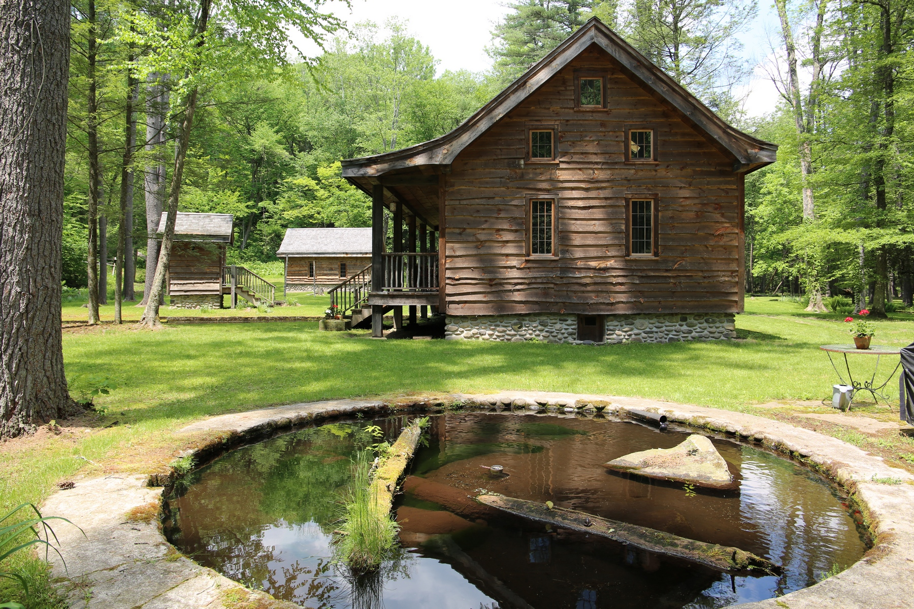 Single Family Homes for Active at Trout Hatchery Ponds on the Vernooy Kill Catskills 414 Upper Jenny Brook Road Napanoch, New York 12489 United States