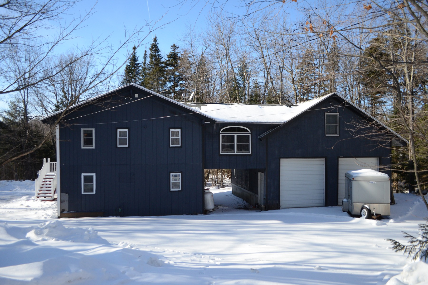 Single Family Homes for Sale at Deeded Lake Rights to Lake Raponda 12 Ware Rd Wilmington, Vermont 05363 United States
