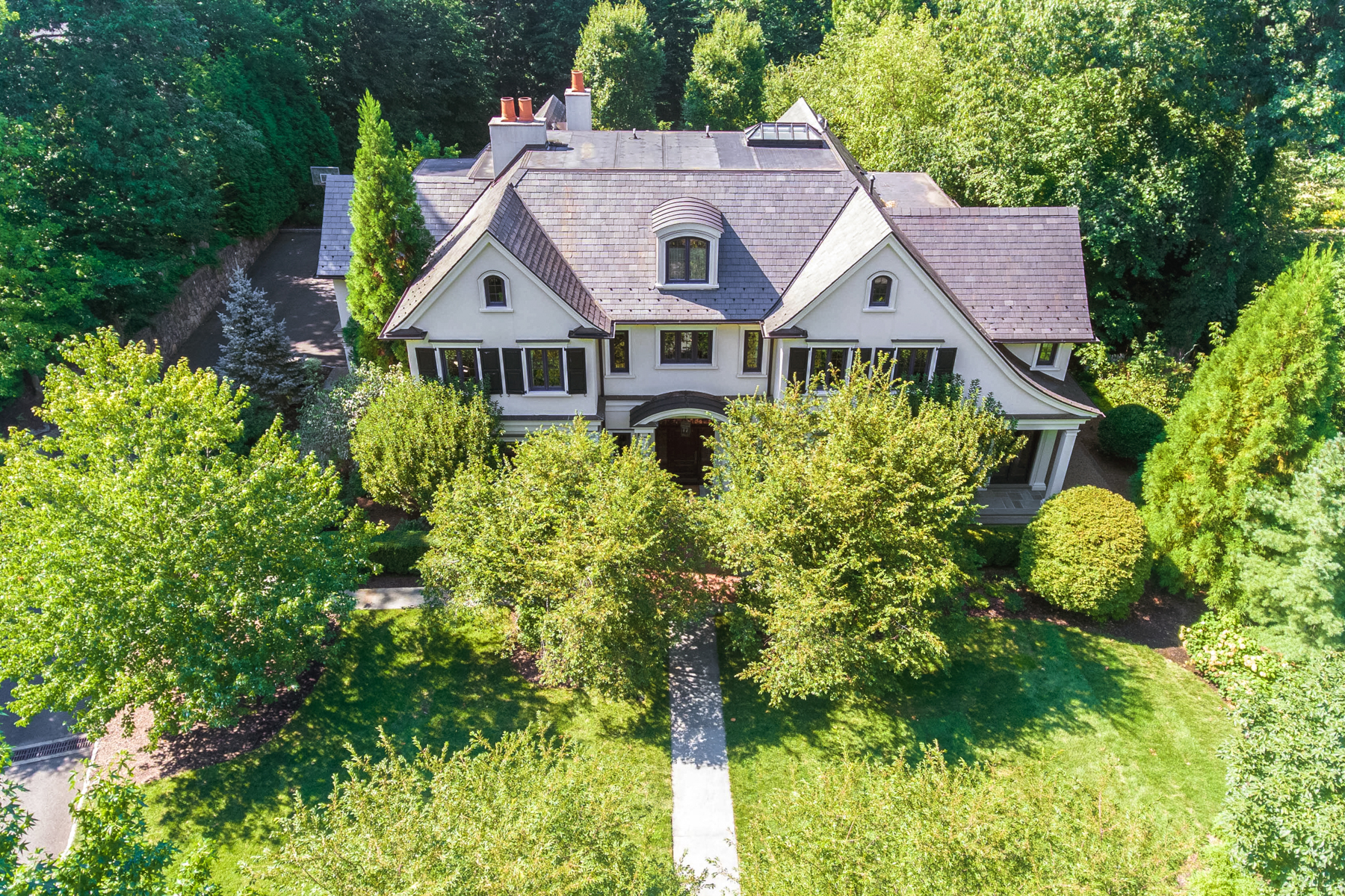 Single Family Homes for Sale at Timelessness And Old World Charm 46 Ox Bow Lane, Summit, New Jersey 07901 United States