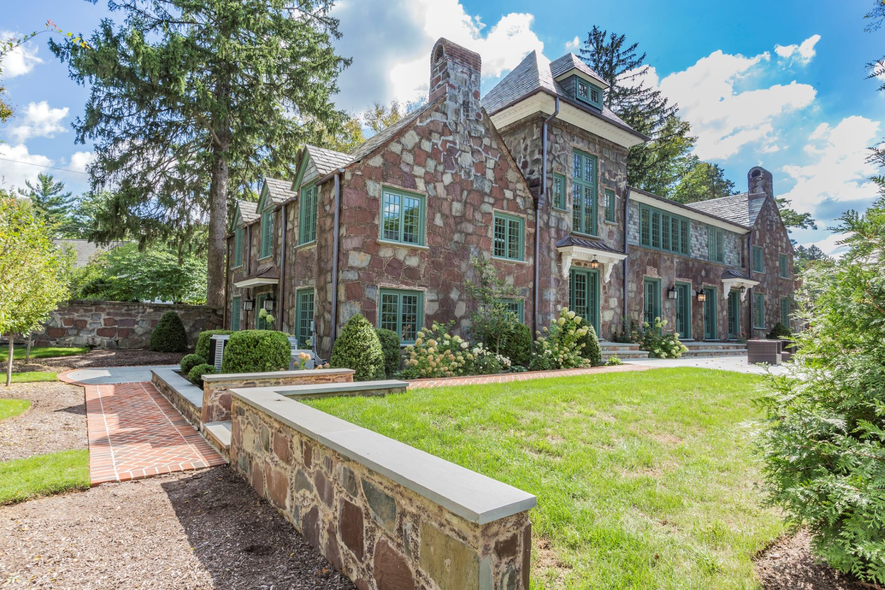Single Family Home for Sale at A Distinctly Modern Sensibility for Legacy Home 75 Cleveland Lane, Princeton, New Jersey 08540 United States
