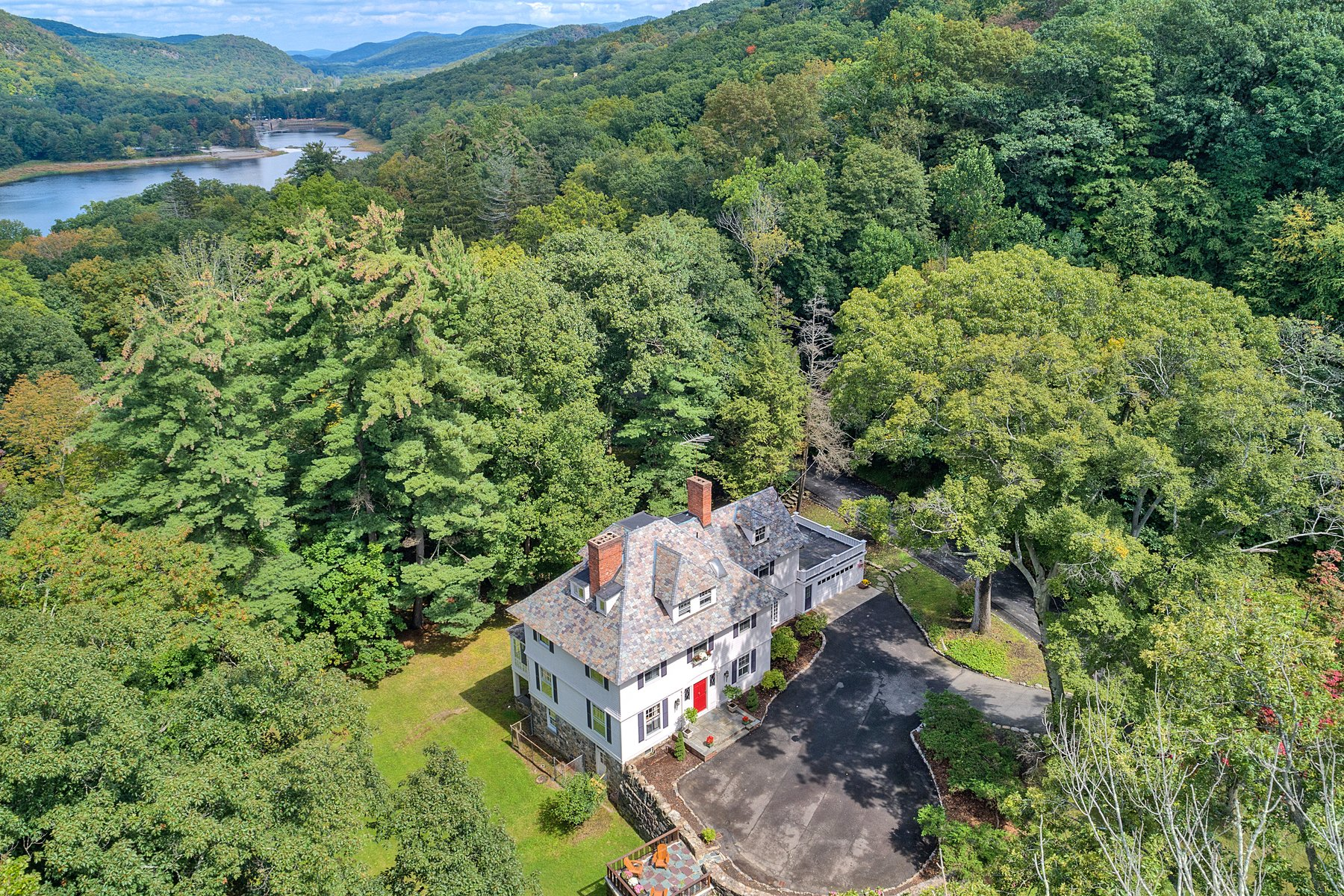 "Single Family Homes for Sale at ""Horace Waldo Cottage"" 160 Continental Road Tuxedo Park, New York 10987 United States"