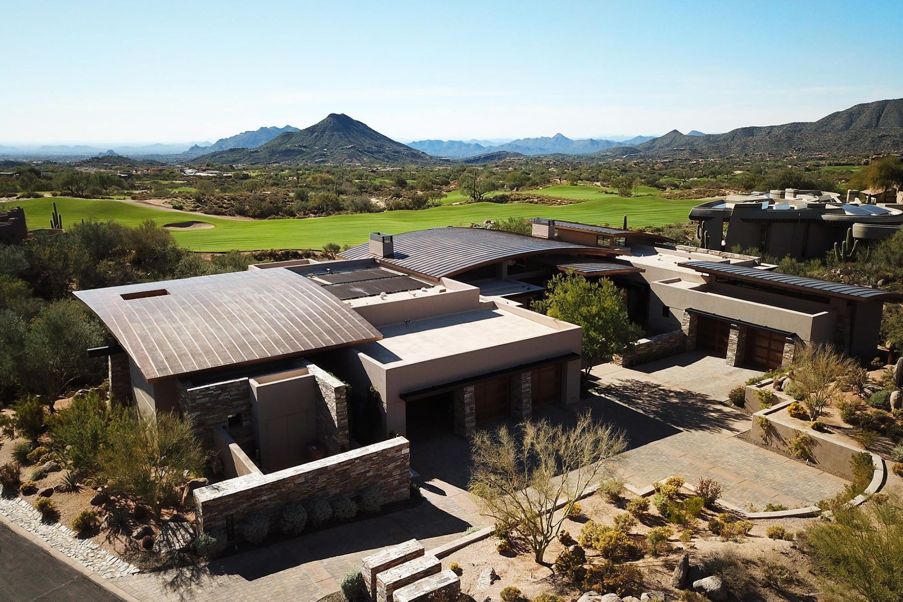 single family homes for Active at Desert Contemporary home 40648 N 107TH ST Scottsdale, Arizona 85262 United States