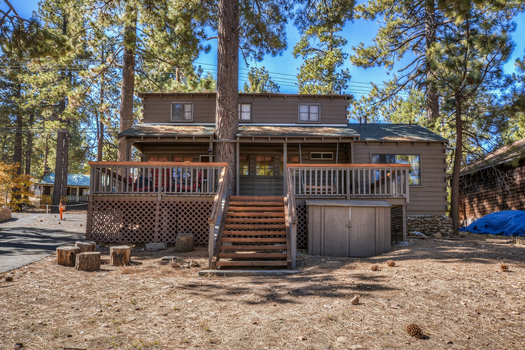 Single Family Home for Sale at 40230 Lakeview Drive Big Bear Lake, Ca. 92315 Big Bear Lake, California 92315 United States