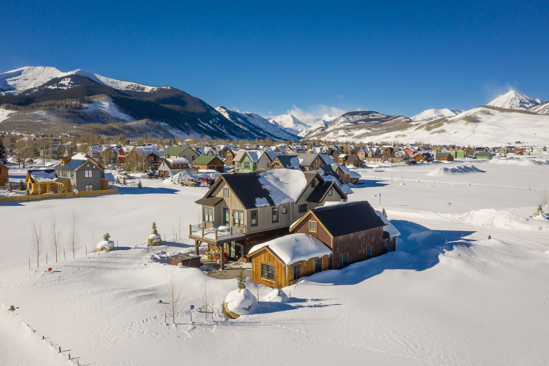 Single Family Homes for Sale at 926 Belleview Avenue Crested Butte, Colorado 81224 United States
