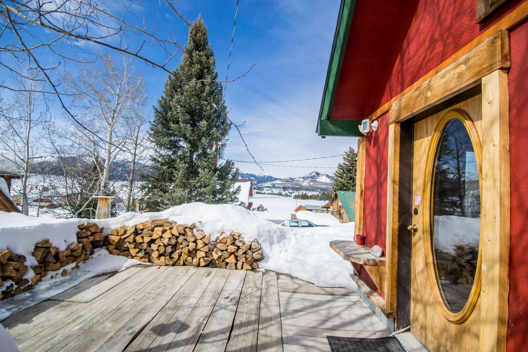 Single Family Home for Sale at North Routt Cabin Near Steamboat Springs, CO 61161 Cottonwood Street Clark, Colorado, 80428 United States