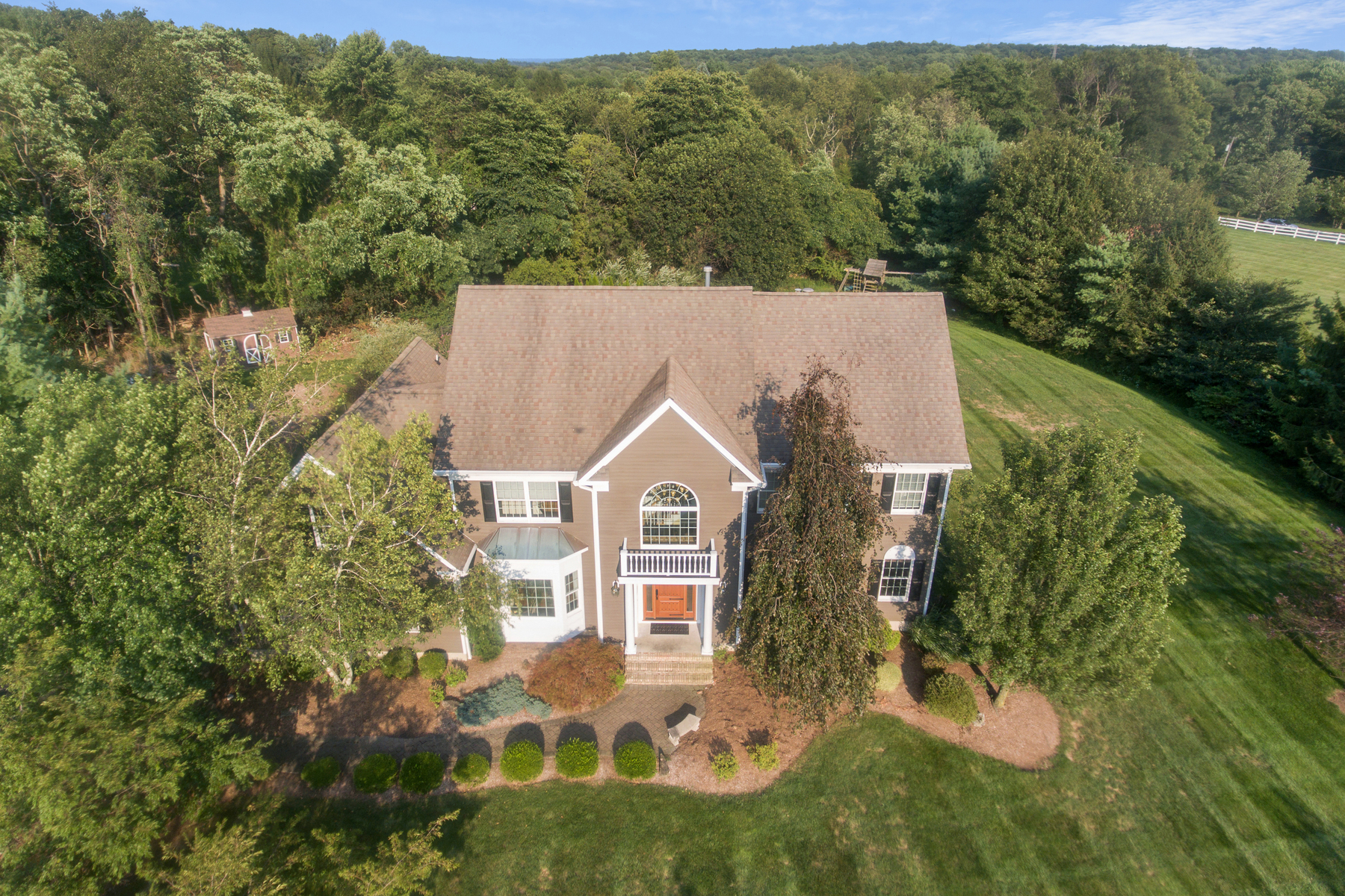 Single Family Homes for Active at Stately Colonial 3 Bristol Terrace Washington Township, New Jersey 07853 United States