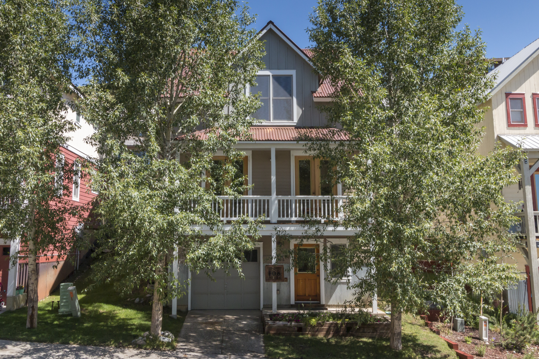 Single Family Home for Active at Bright Pitchfork Home 106 Big Sky Drive Mount Crested Butte, Colorado 81225 United States