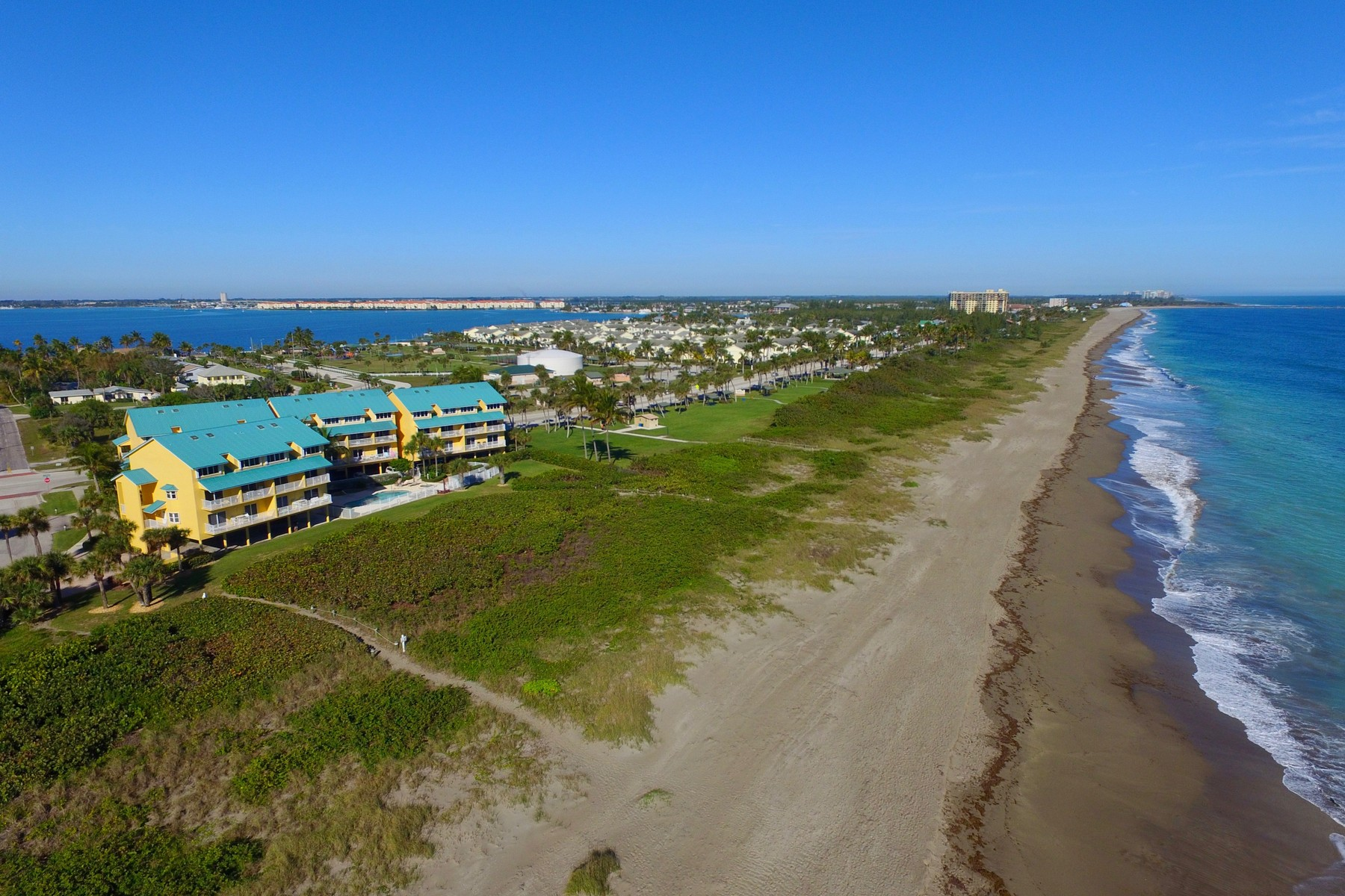 Condominiums for Sale at Location, Location! Cozy Two Bedroom Turn-Key Condo on Hutchinson Island 1550 S Ocean Drive #D24, Hutchinson Island, Florida 34949 United States