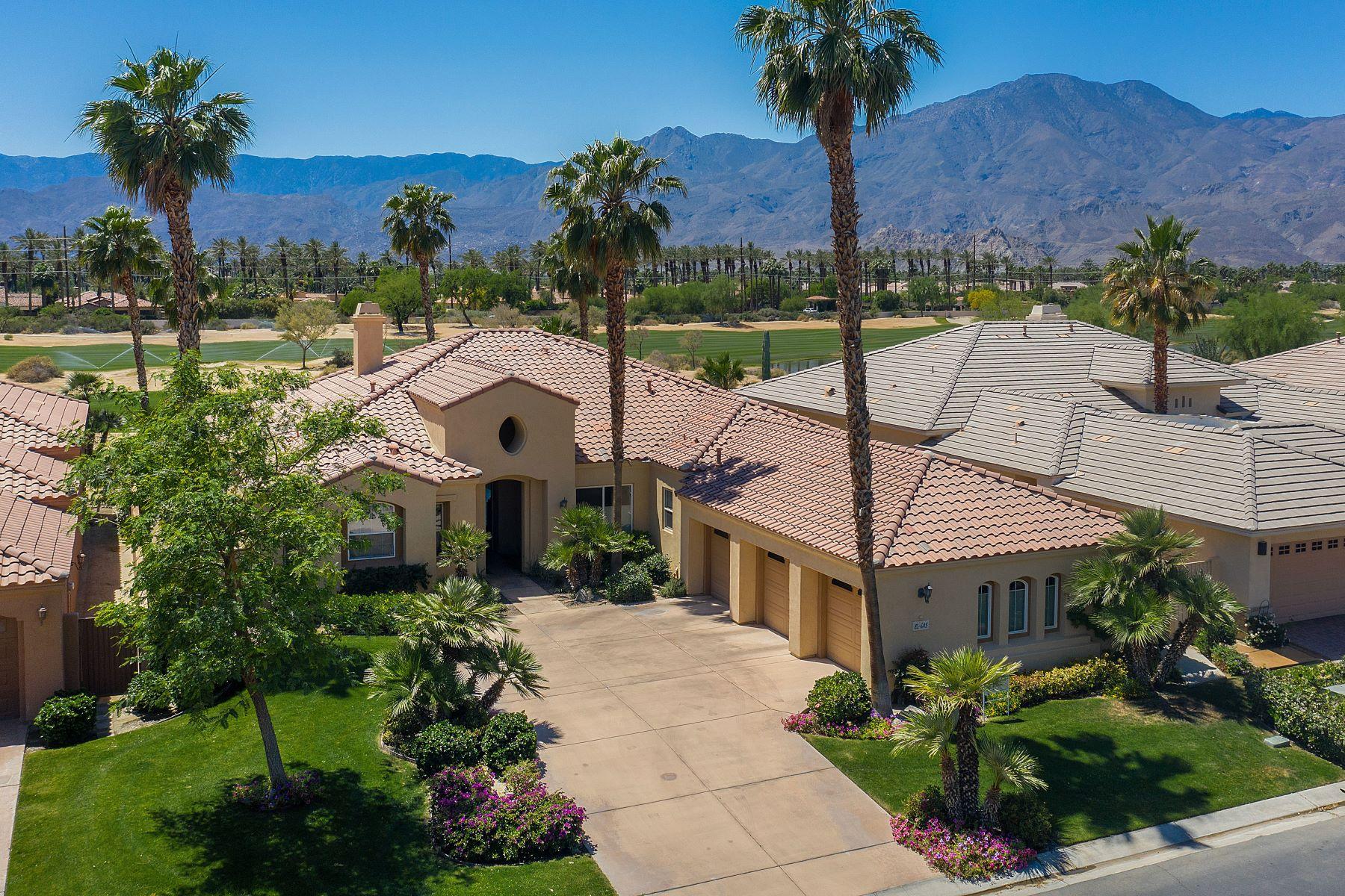 Single Family Homes for Sale at 81645 Tiburon Drive La Quinta, California 92253 United States