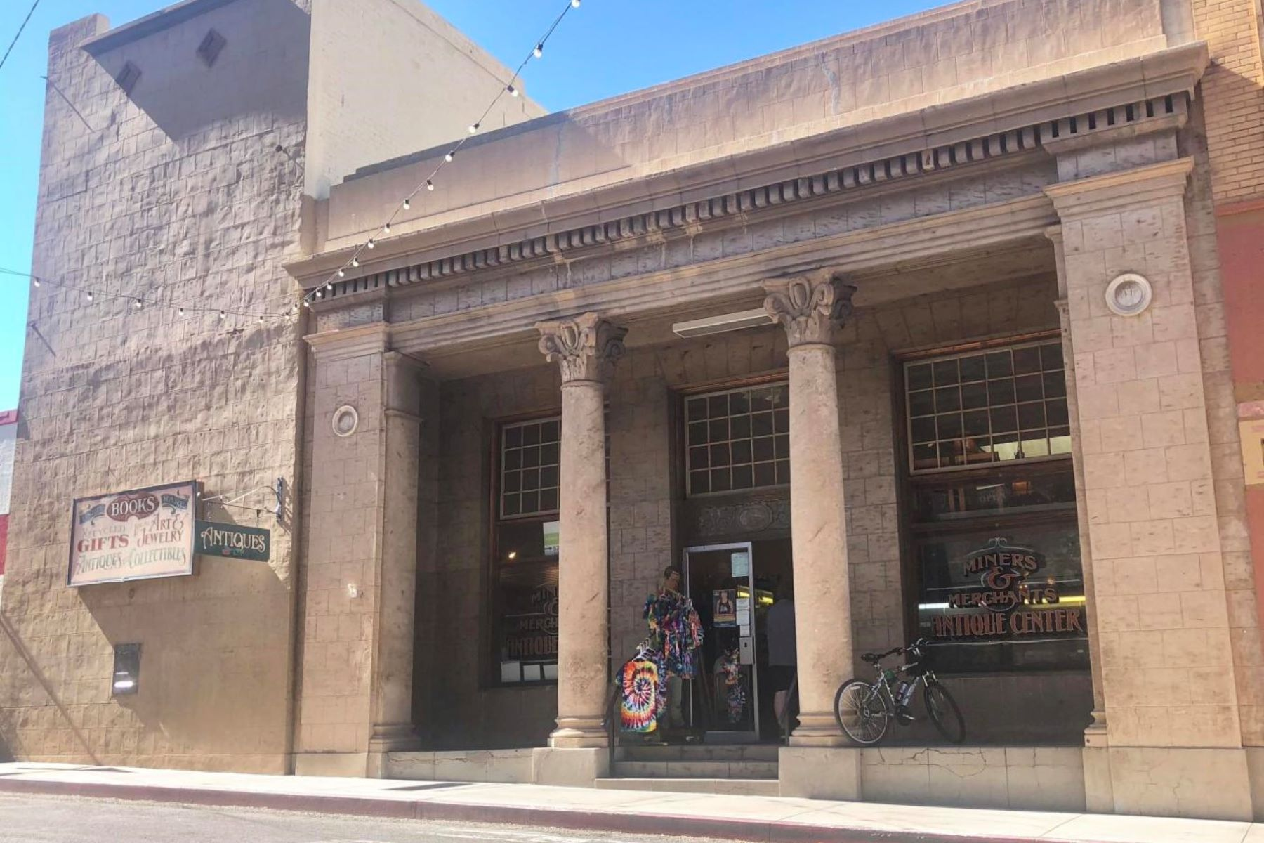 Single Family Homes for Sale at Historical Bisbee Bank is Now For Sale 7 Main Street Bisbee, Arizona 85603 United States