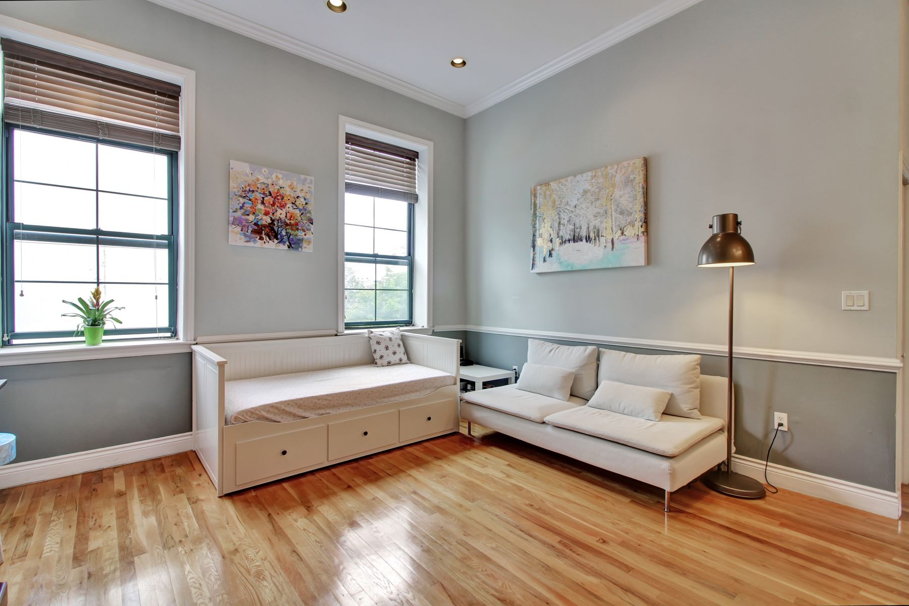 Condominium for Rent at Loft-style Two Bedroom Two full bath Condo 729 Madison Street #2B Hoboken, New Jersey 07030 United States