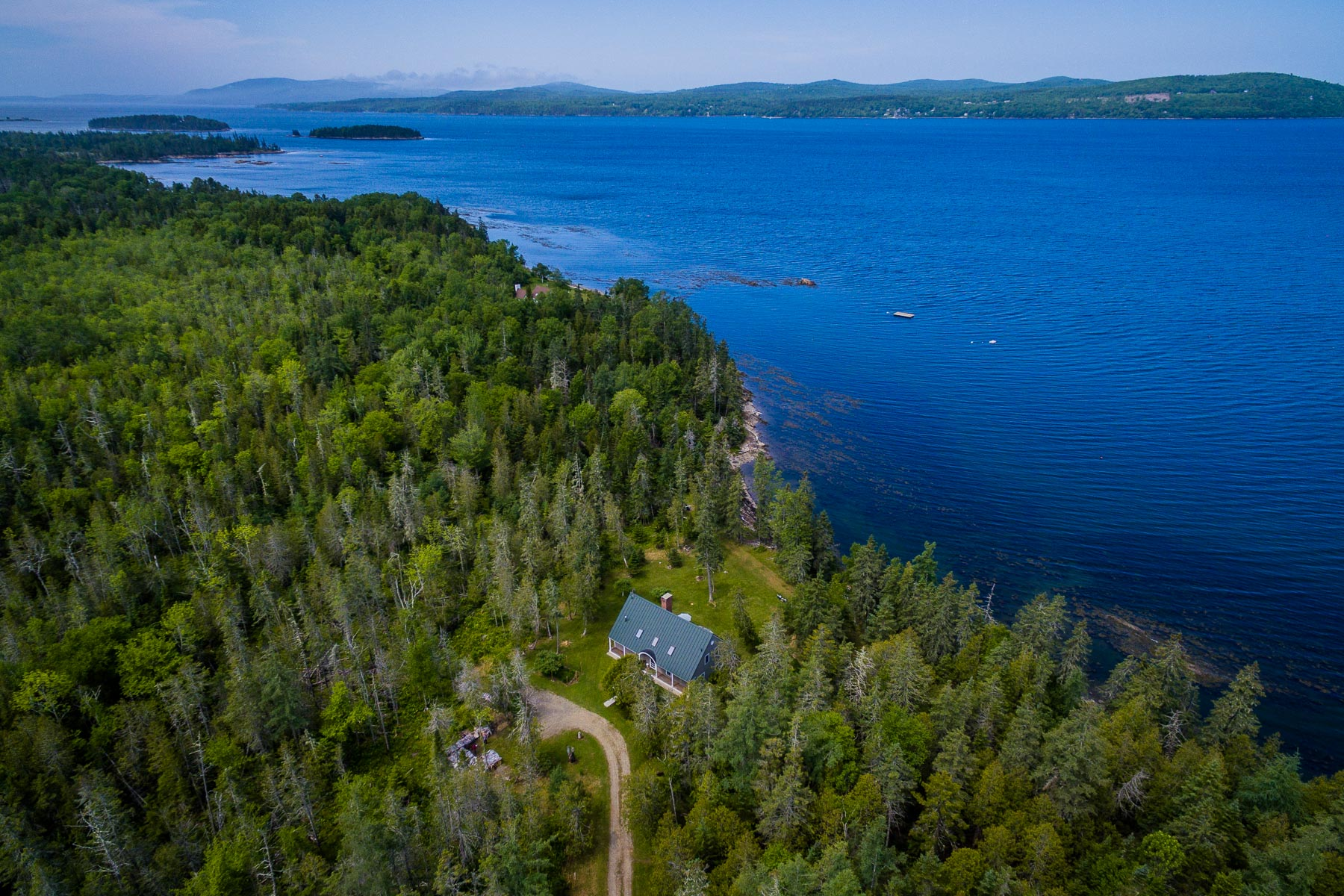 Single Family Home for Sale at 143 Sprague Cove Lane Islesboro, Maine 04848 United States