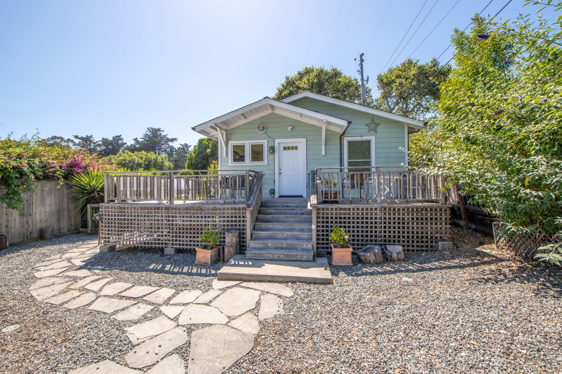 Single Family Homes for Sale at Handcrafted Home Nestled in the HIllside of Mt. Tam 91 Lincoln Ave Stinson Beach, California 94970 United States
