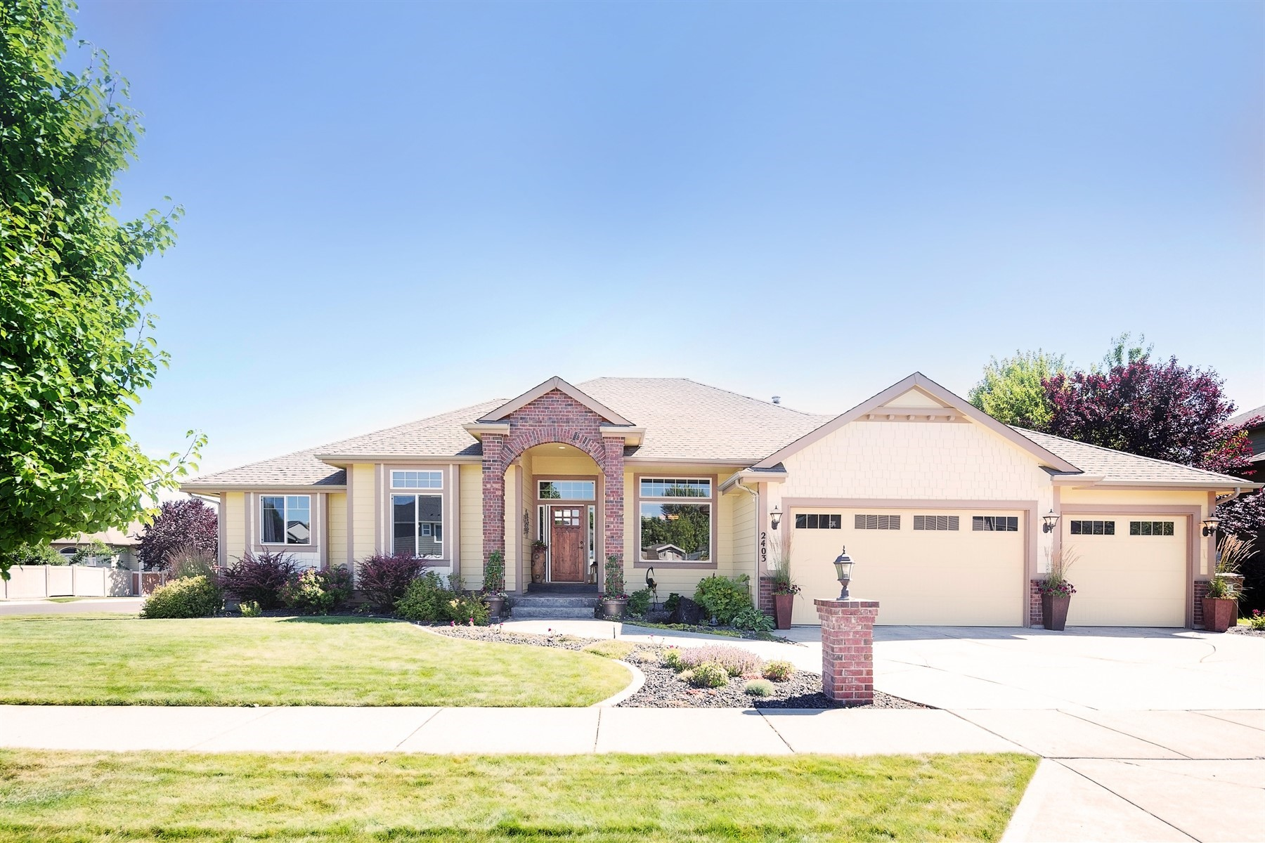 Single Family Homes for Sale at Impeccable 5 Mile Rancher 2403 W Kammi Ave Spokane, Washington 99208 United States
