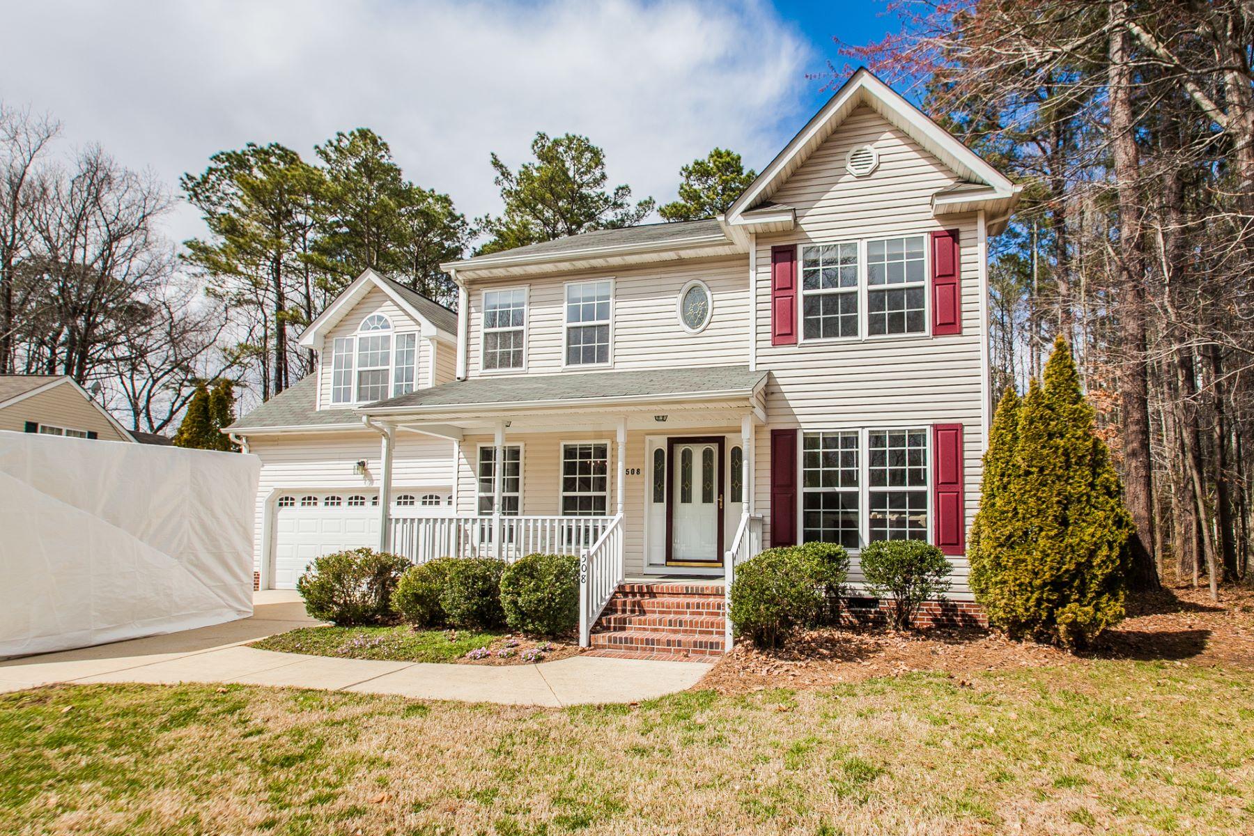 Частный односемейный дом для того Продажа на Aspen Woods 508 Hickory Cres, Smithfield, Виргиния, 23430 Соединенные Штаты
