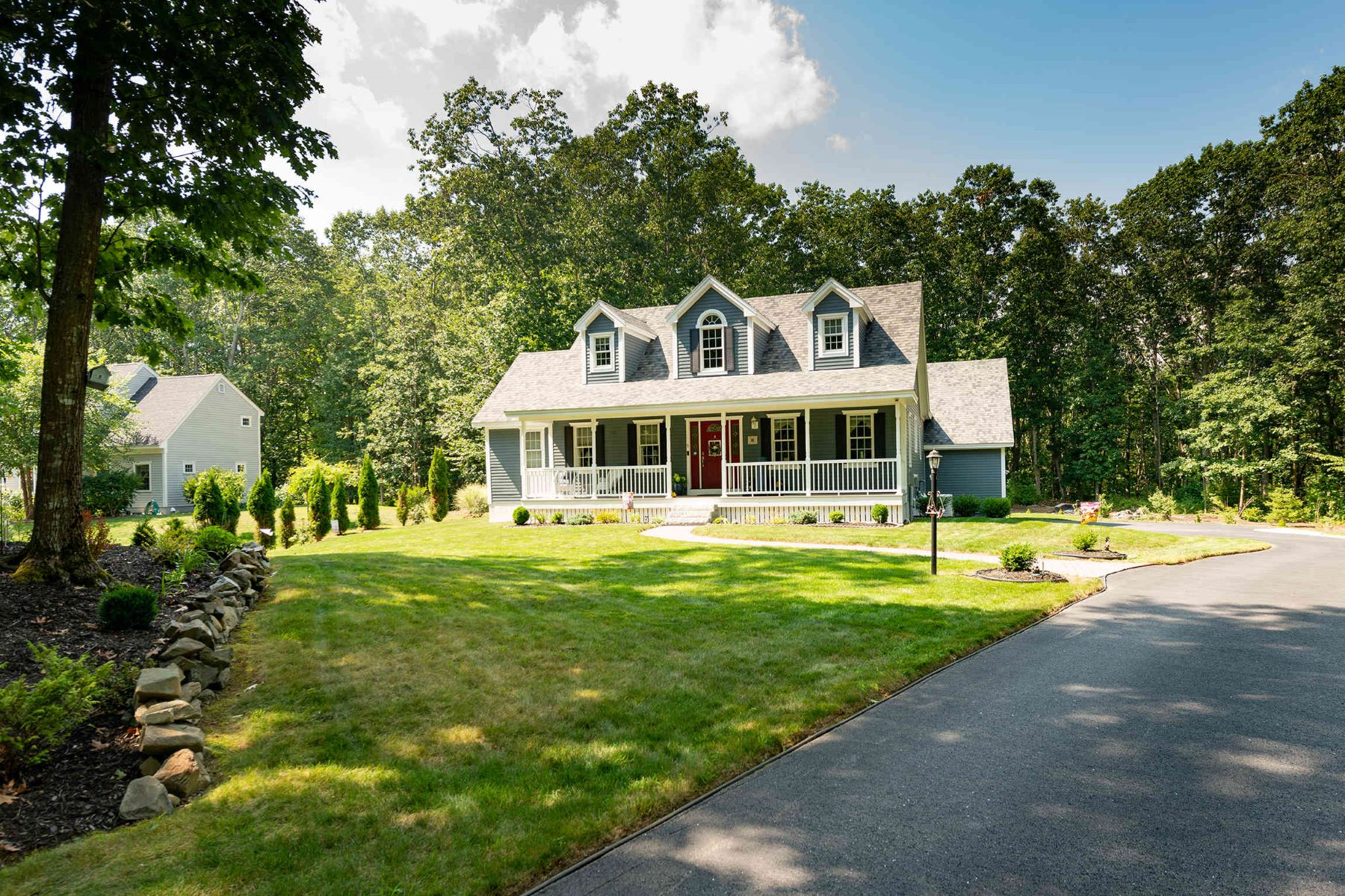 Single Family Homes for Active at Beautiful Classic Cape with Farmers Porch in Kittery 5 Janah Lane Kittery, Maine 03905 United States