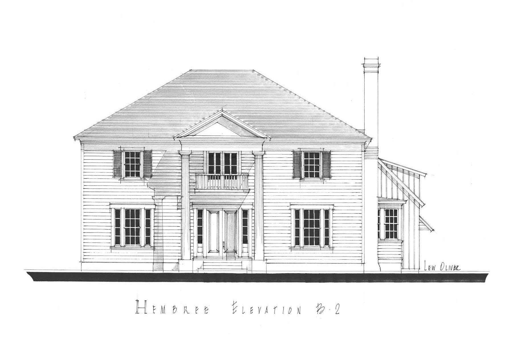 Maison unifamiliale pour l Vente à Six Distinctively Designed Residences 765 Hembree Road Roswell, Georgia, 30076 États-Unis
