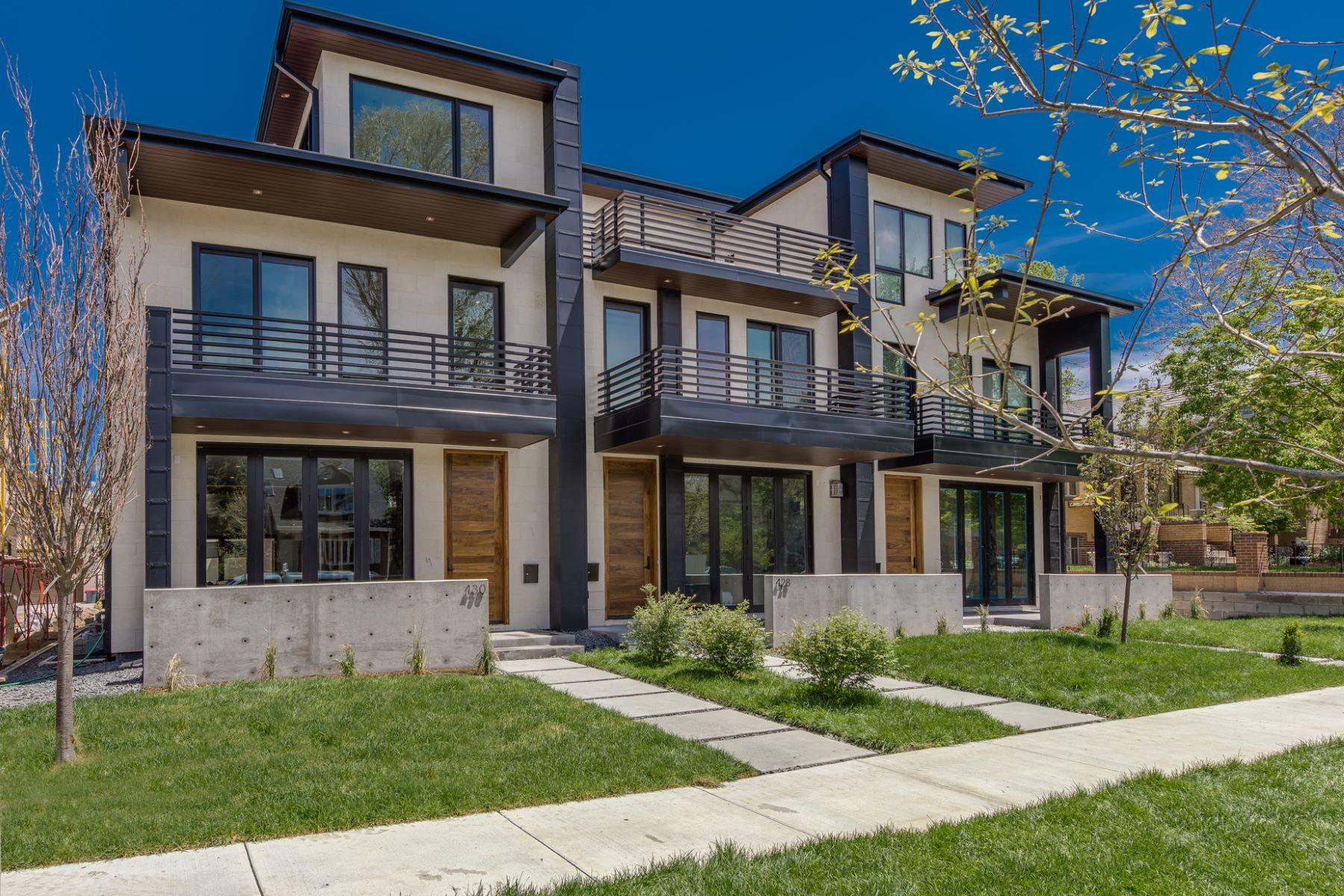 Maison unifamiliale pour l Vente à 426 Garfield 426 Garfield Street Denver, Colorado, 80206 États-Unis