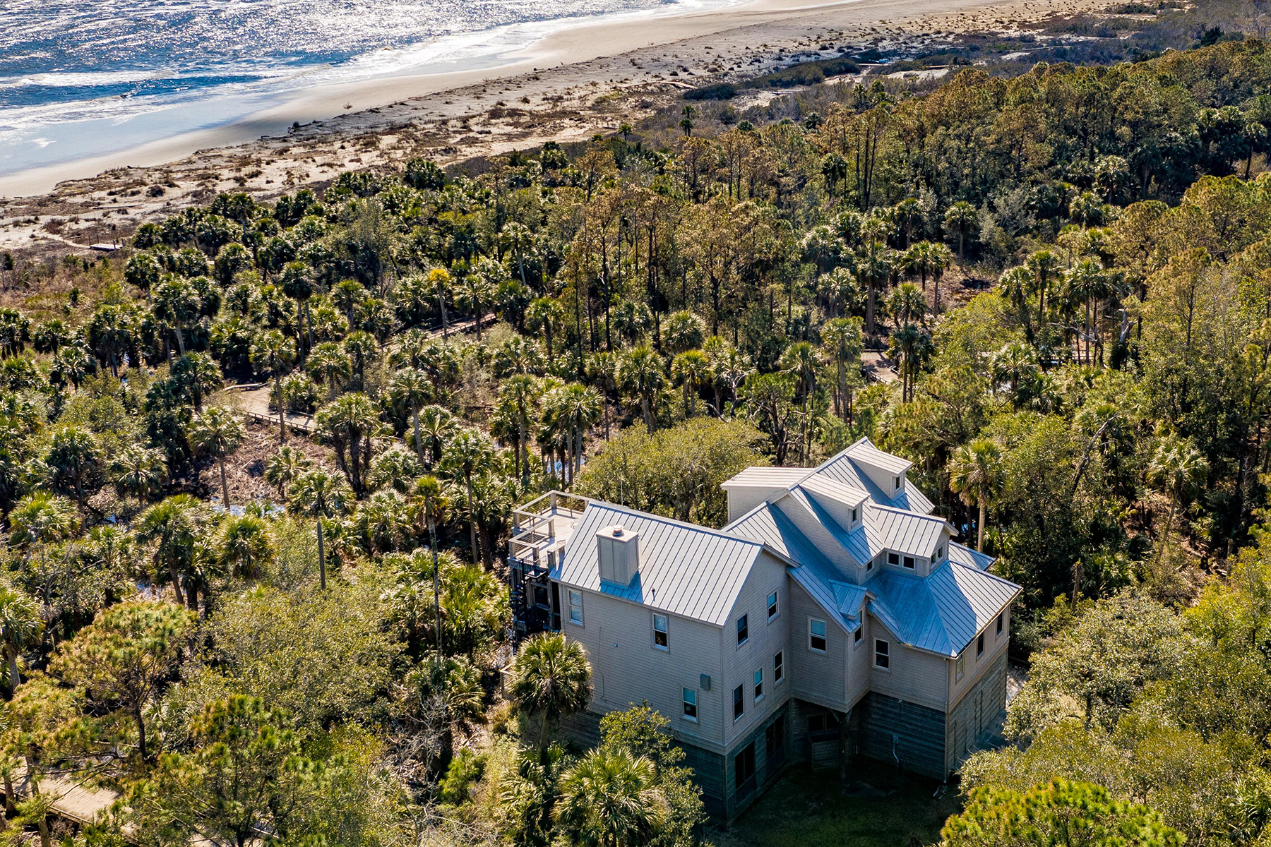 Single Family Homes for Sale at 311 Pelican Flight Drive Dewees Island, South Carolina 29451 United States