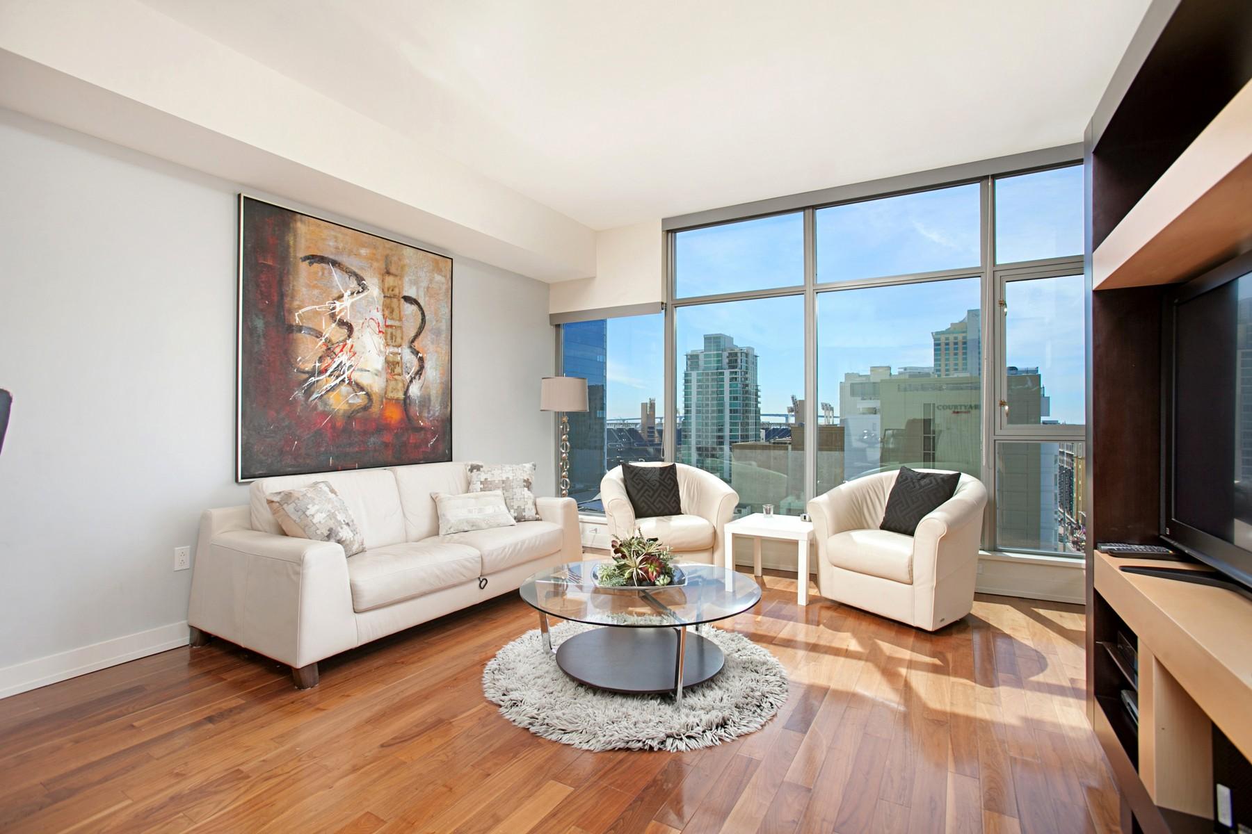 共管式独立产权公寓 为 销售 在 575 6th Avenue,1108 575 6th Avenue 1108 Downtown San Diego, 圣地亚哥, 加利福尼亚州, 92101 美国