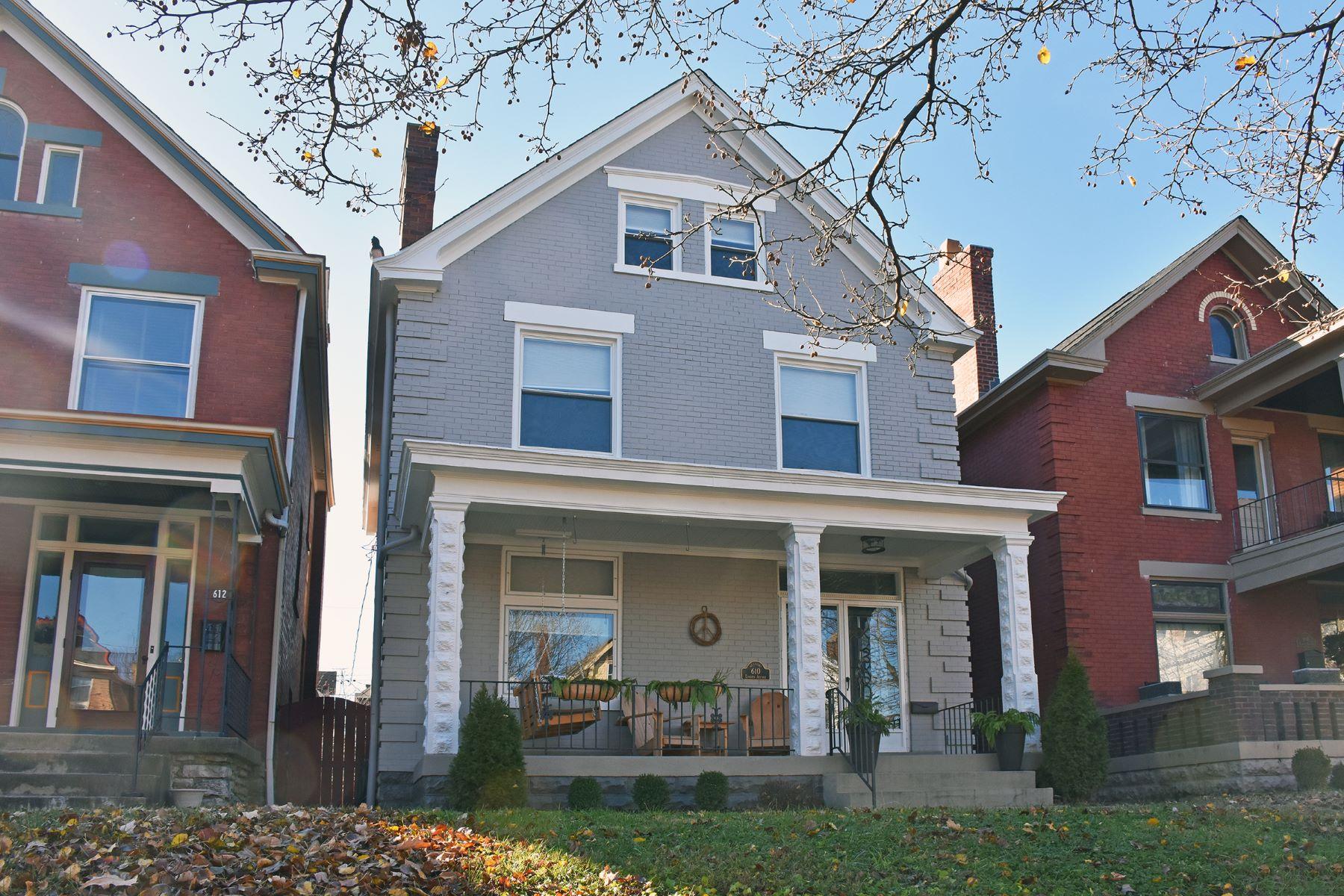 Single Family Homes 为 销售 在 610 Linden Avenue 纽波特, 肯塔基州 41071 美国