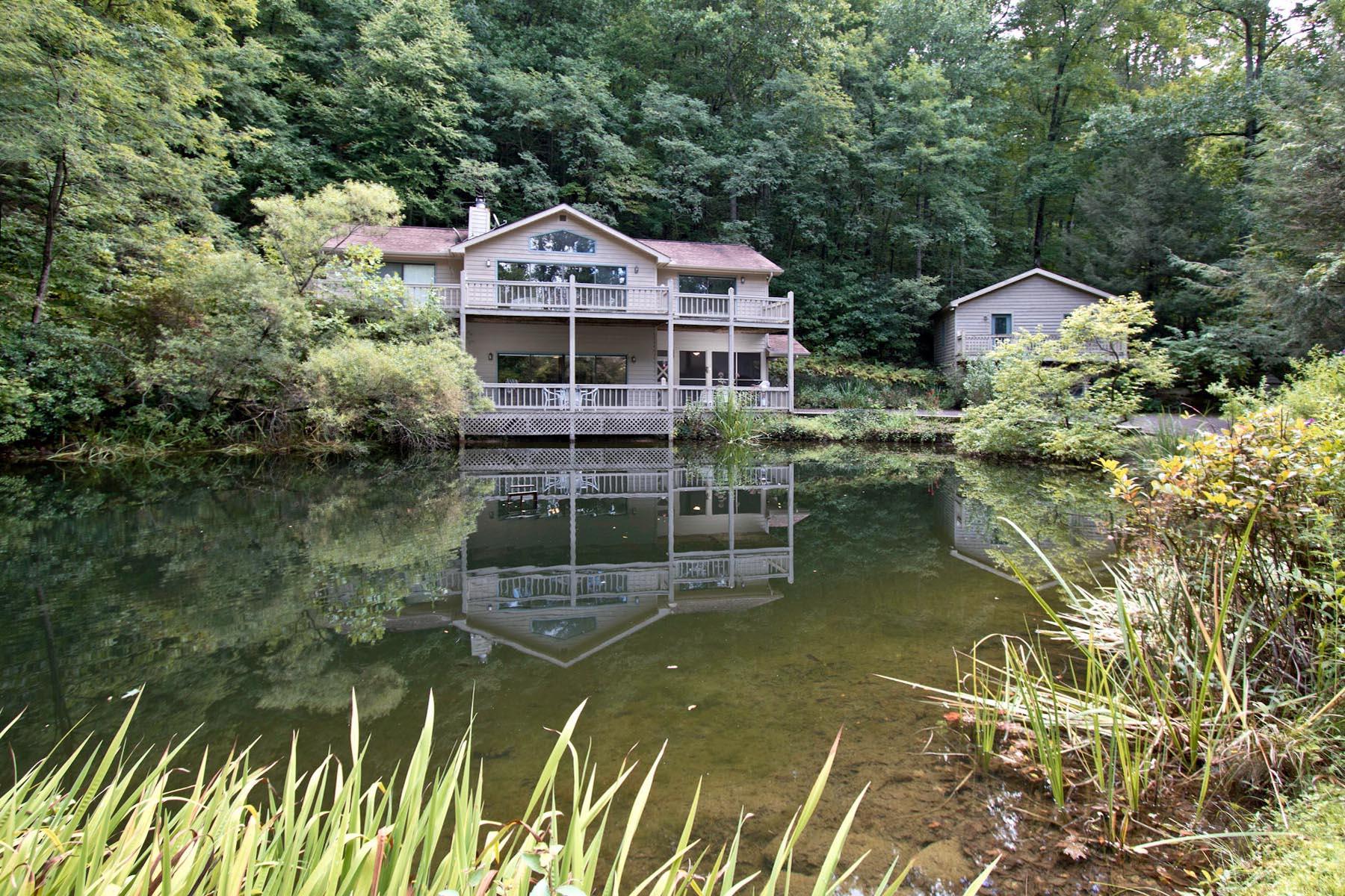 Частный односемейный дом для того Продажа на Samford 114 Four Ponds Dillard, Джорджия 30537 Соединенные Штаты