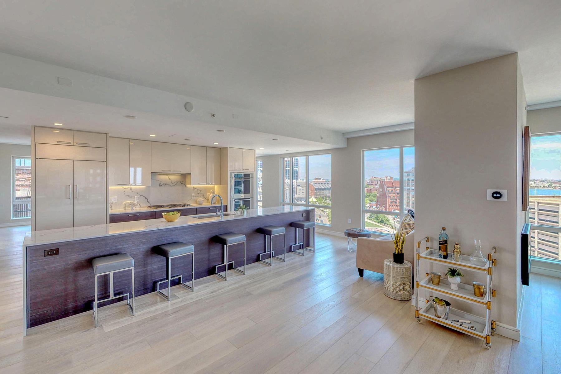 Condominiums por un Venta en Like nothing you have seen! 110 Broad Street PH-2 Boston, Massachusetts 02110 Estados Unidos