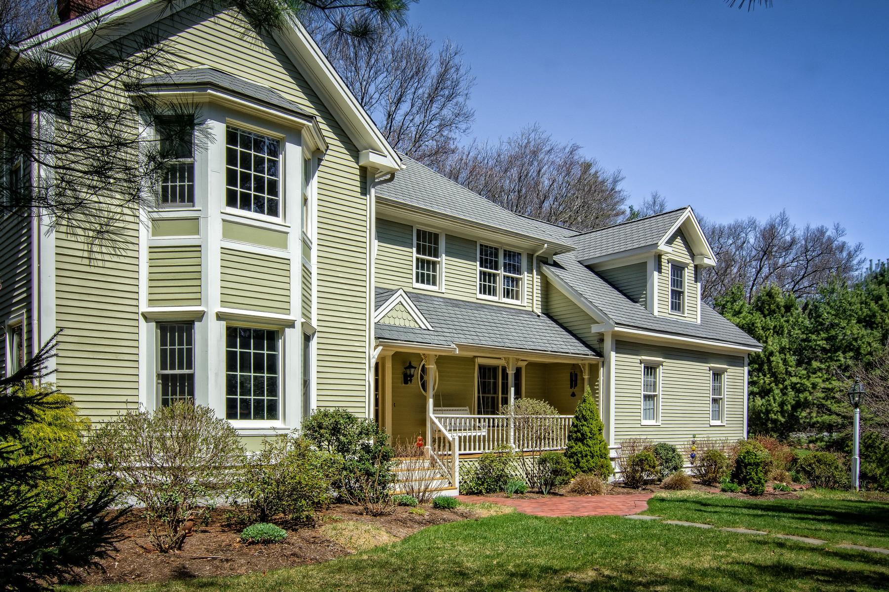 Maison unifamiliale pour l Vente à Spectacular Custom Colonial 3 Olde Connecticut Path Westborough, Massachusetts 01581 États-Unis