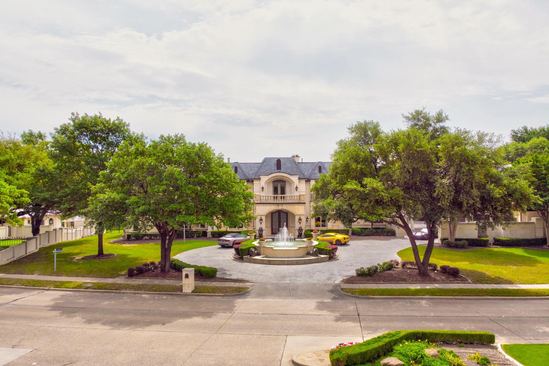 Single Family Homes por un Venta en Palatial Estate 2000 Willow Bend Drive Plano, Texas 75093 Estados Unidos