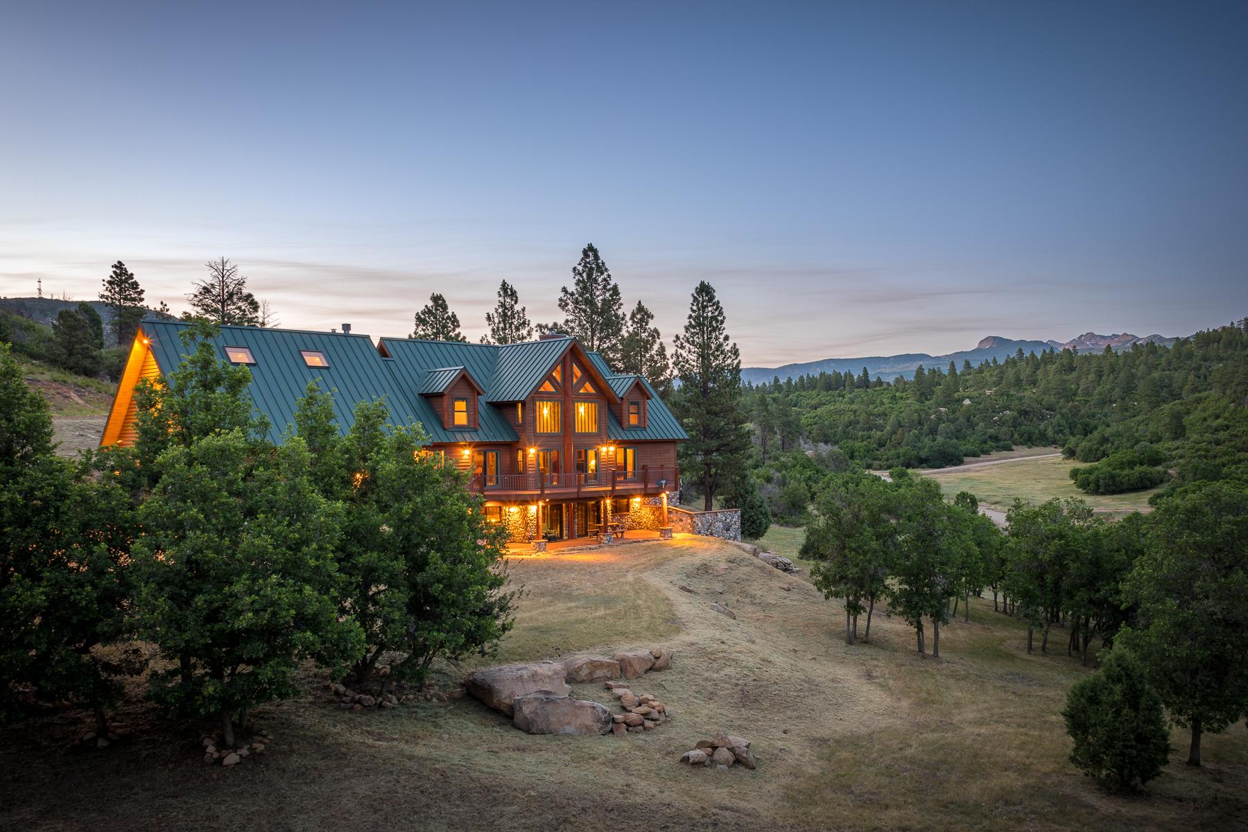 Maison unifamiliale pour l Vente à Helmet Peak Ranch 7015 Road 46 Mancos, Colorado 81328 États-Unis
