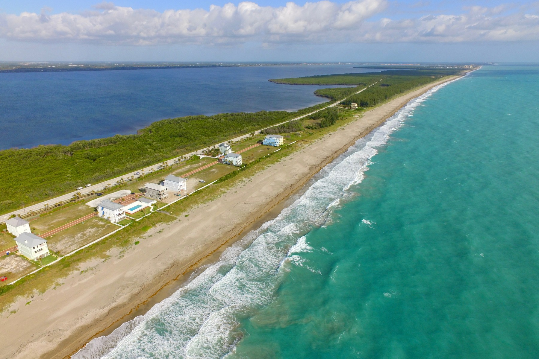 Land for Sale at Beautiful Gated Oceanfront Subdivision with Quaint Paver Streets 4820 Watersong Way Hutchinson Island, Florida 34949 United States