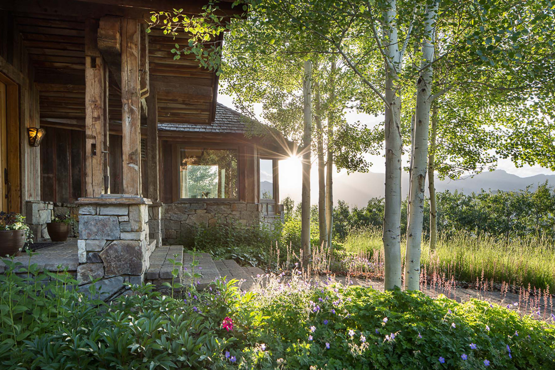 Single Family Home for Sale at Rustic Elegance & Commanding Teton Views at Spring Creek Resort. 190 W Calliope Drive, Jackson, Wyoming, 83001 Jackson Hole, United States