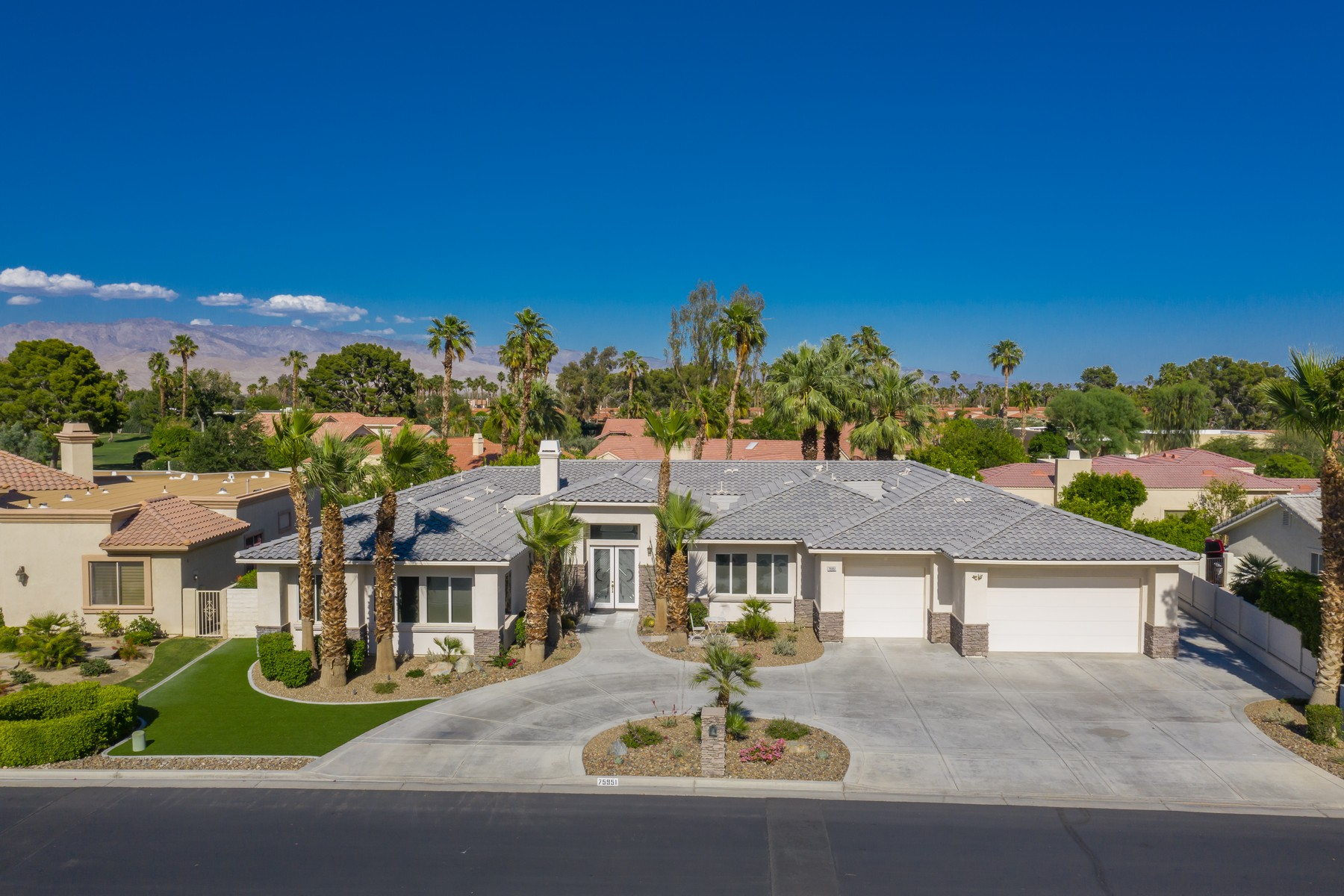 Single Family Homes for Sale at 75951 Mozambique Drive N Palm Desert, California 92211 United States